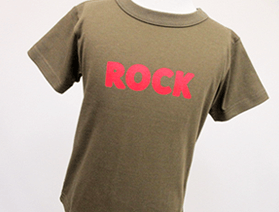Tシャツ・ ROCK(ロック)