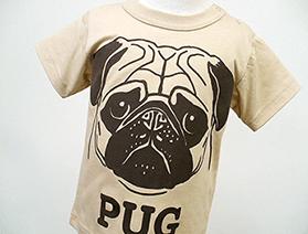 Tシャツ・ PUG(パグ)