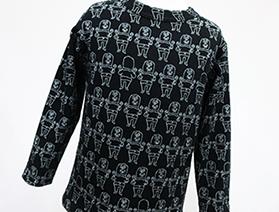 ジャガード長袖Tシャツ・MARACAS(マラカス)