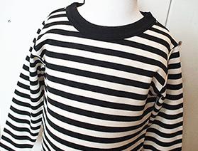 ボーダー長袖Tシャツ・ブラック×ホワイト(2017年モデル)