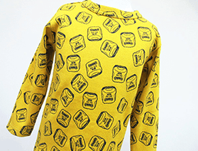 ジャガード長袖Tシャツ・923形ドクターイエロー